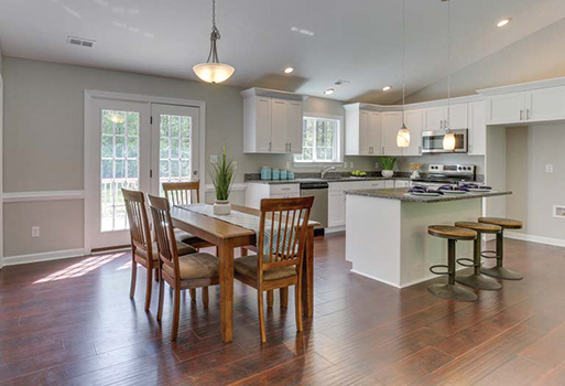 Kitchen projects by Floors To Go in Virginia Beach, Virginia